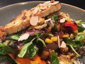 Mediterranean Veggie Bowl | Magdala Motor Lodge Lakeside Restaurant | Stawell, Grampians Region